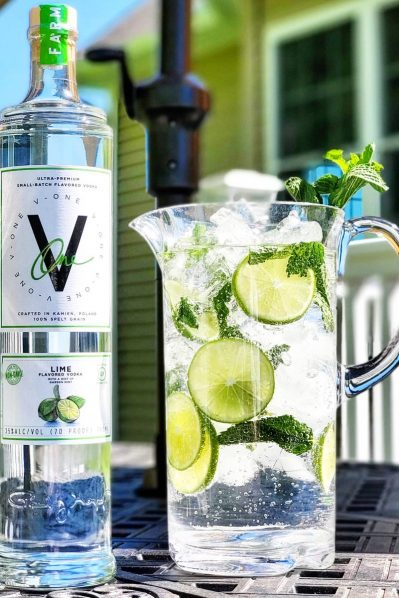 V-ONE Lime (100% Organic and Gluten Free)