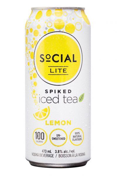 Social Lite - Vodka and Lemon Tea