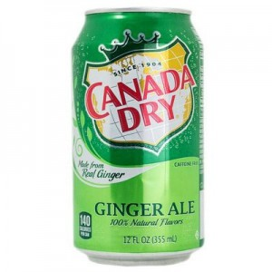 Canada Dry Ginger Ale Cans - 6 Pack