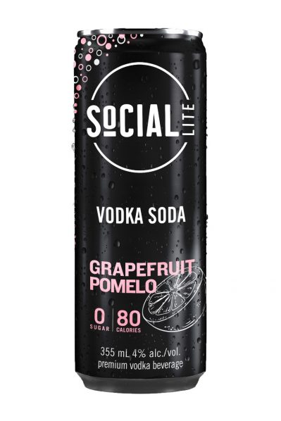 Social Lite - Vodka Grapefruit Pomelo