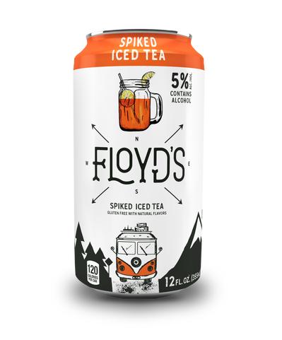 Floyds Spiked Tea - 355ml Can