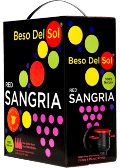 Beso Del Sol Red Sangria 3L Box