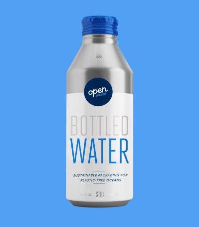 Open Water - Premium Aluminum Still Bottled Water (16oz Bottles - 473ml)