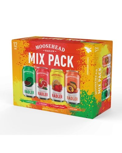 Moosehead Radler Mix Pack - Cans - 355 ML - 24 Pack
