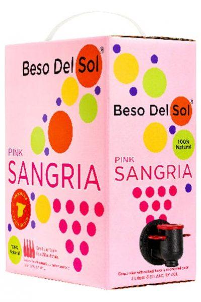 Beso Del Sol Rose Sangria 3L Box