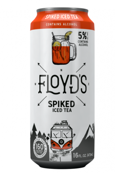 Floyds Spiked Tea - 473ml Tall Can