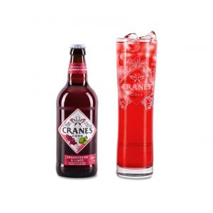 Cranes Cider - Cranberries & Limes 500 ML