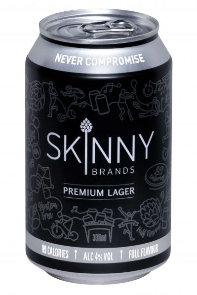 Skinny Beer - Premium Lager 330ML Cans