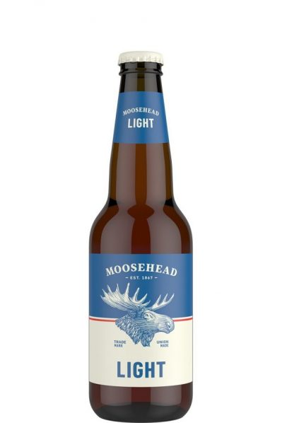 Moosehead Light Bottles - 350 ML