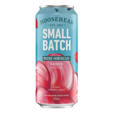 Small Batch Rose Hibiscus Beer (6.1% ABV)