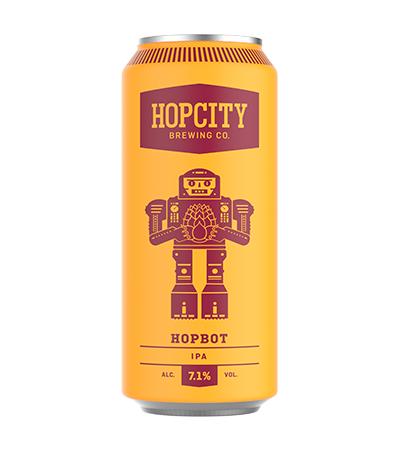 Hop Bot IPA (7.1% ABV) (473ML)