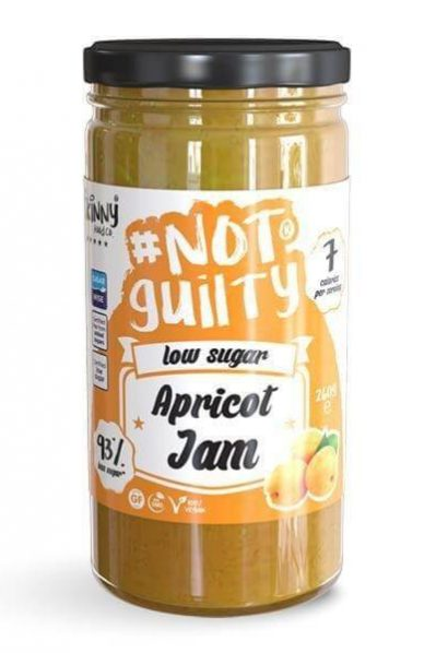 Skinny Food Co. #NotGuiltyApricot Jam - Low Sugar/No Added Sugars