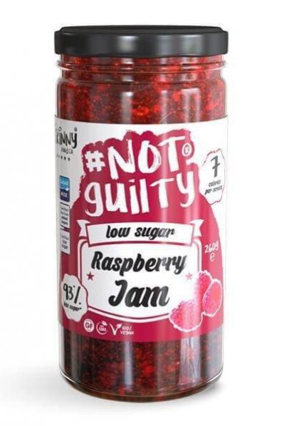 Skinny Food Co. #NotGuilty Raspberry Jam - Low Sugar/No Added Sugars