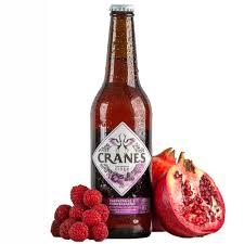 Cranes Cider - Raspberries & Pomegranates 500 ML