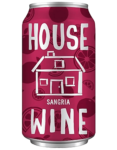 House Wine Sangria Can - 375ML