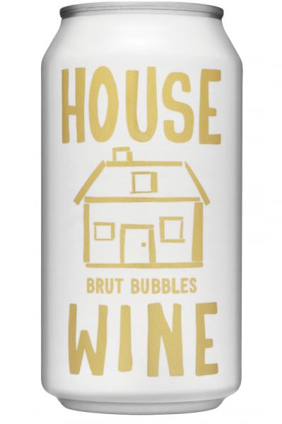 House Wine Brut Bubbles - 375ml
