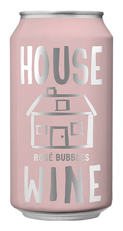 House Wine Rose Bubble - 375ML