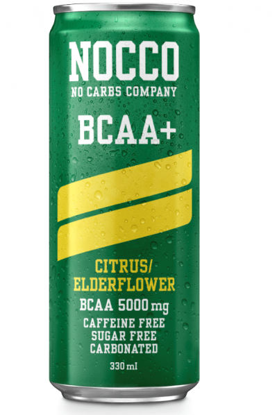 Nocco Energy Drink - Citrus Elderflower (BCAA and Sugar Free)