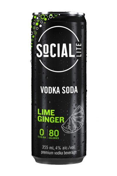 Social Lite - Lime Ginger