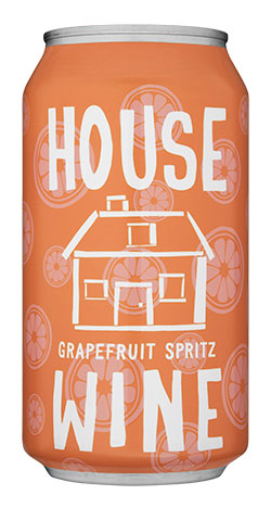 House Wine Grapefruit Spritz - 375ml
