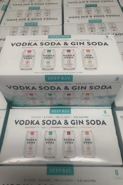Deep Bay Spirits - 8 Can Variety Pack
