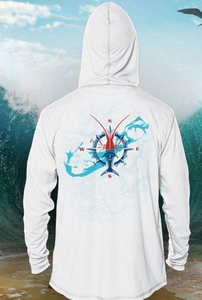 BDA Spirits Hoody Fishing Shirt
