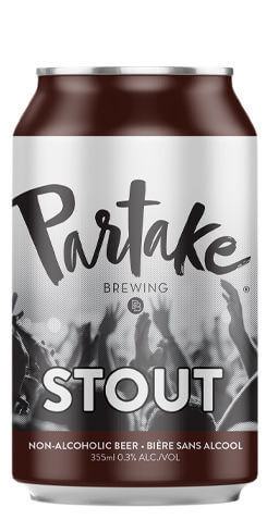 Partake Stout - Non-Alcoholic Beer