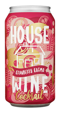 House Wine Cranberry Cosmo - 375ml