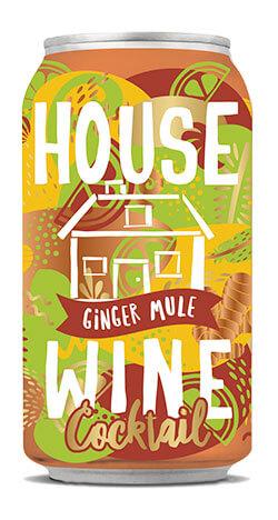House Wine Ginger Mule - 375ml