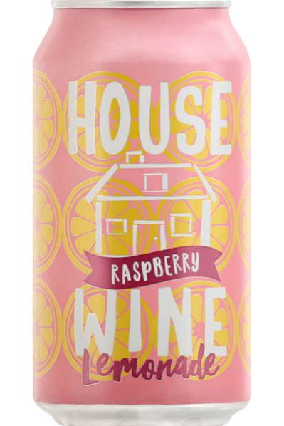House Wine Raspberry Lemonade - 375ml