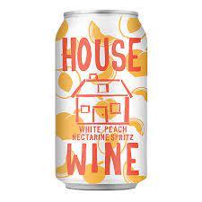 House Wine Old White Peach Nectarine Spritz - 375ml