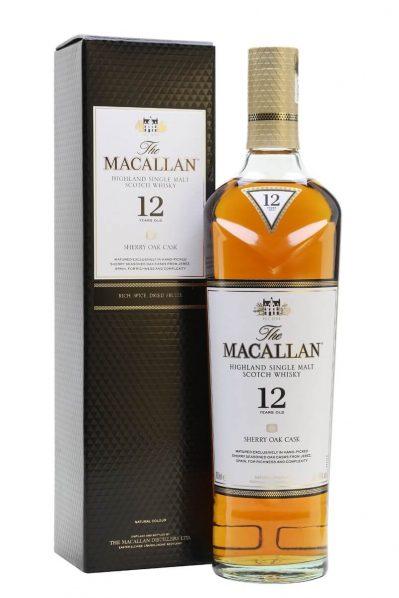 Macallan - 12 Year Sherry Oak Malt Whiskey