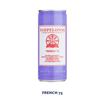 Pampelonne - FRENCH 75 - 250ml (6% abv)