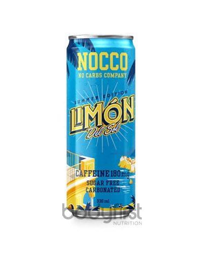 NOCCO Energy Drink - Limón Del Sol (Sugar Free)