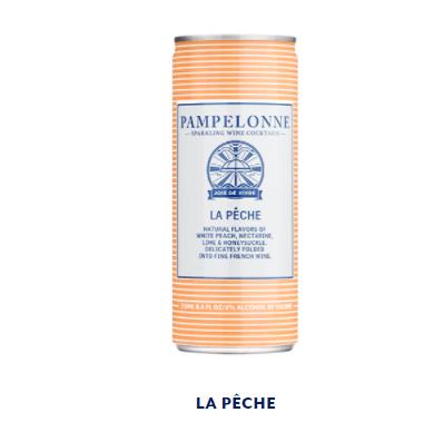 Pampelonne - LA PÊCHE - 250ml (6% abv)