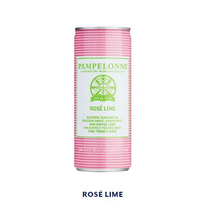Pampelonne - ROSÉ LIME - 250ml (6% abv)