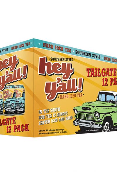 Hey Y'all Hard Iced Tea Tailgate 12 Pack