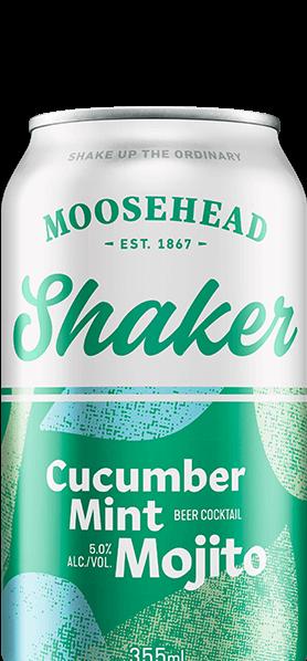 Moosehead Shaker - Cucumber Mint Mojito