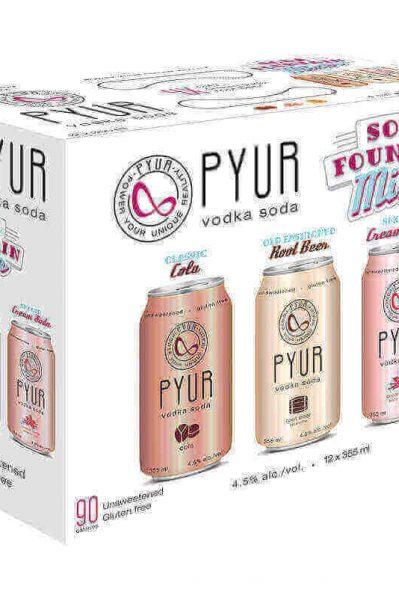 PYUR - SODA FOUNTAIN MIXER PACK