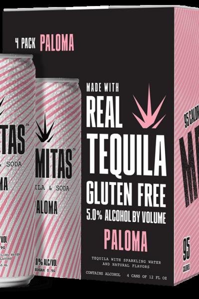 Mamitas Tequila Soda - Paloma / GRAPEFRUIT (Gluten free pick and 95 Calories)