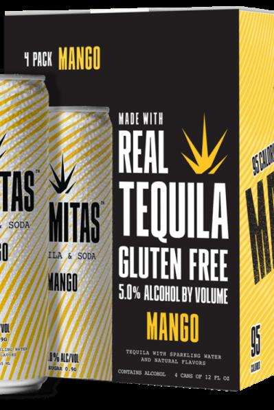 Mamitas Tequila Soda - Mango (Gluten free pick and 95 Calories)