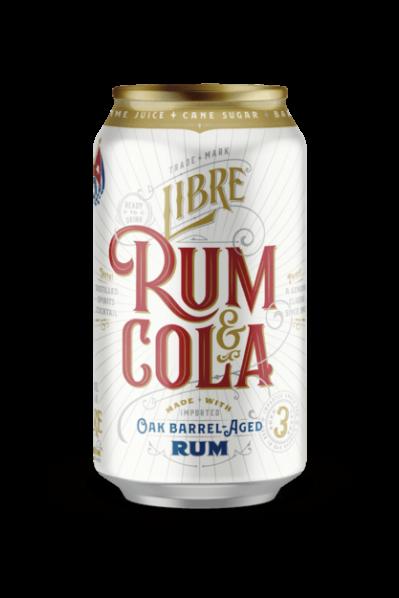 Rum & Cola w/ Lime (8% ABV) - CUBA LIBRE