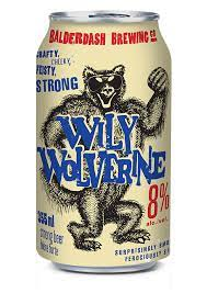 Balderdash Brewing Co. WILY WOLVERINE STRONG LAGER